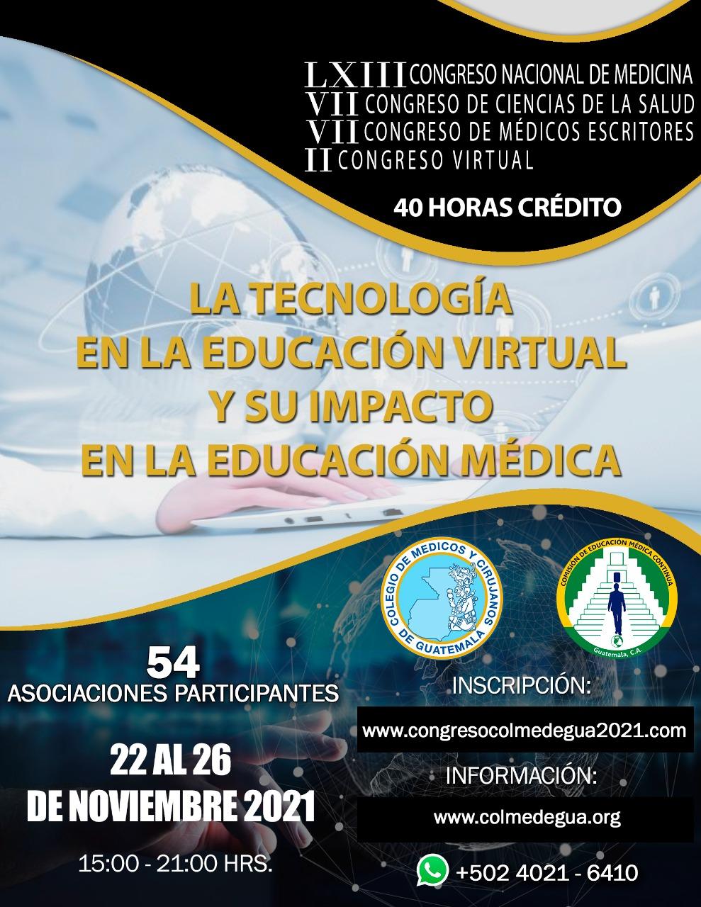 LA TECNOLOGÍA EN LA EDUCACIÓN VIRTUAL Y SU IMPACTO EN LA EDUCACIÓN MÉDICA.