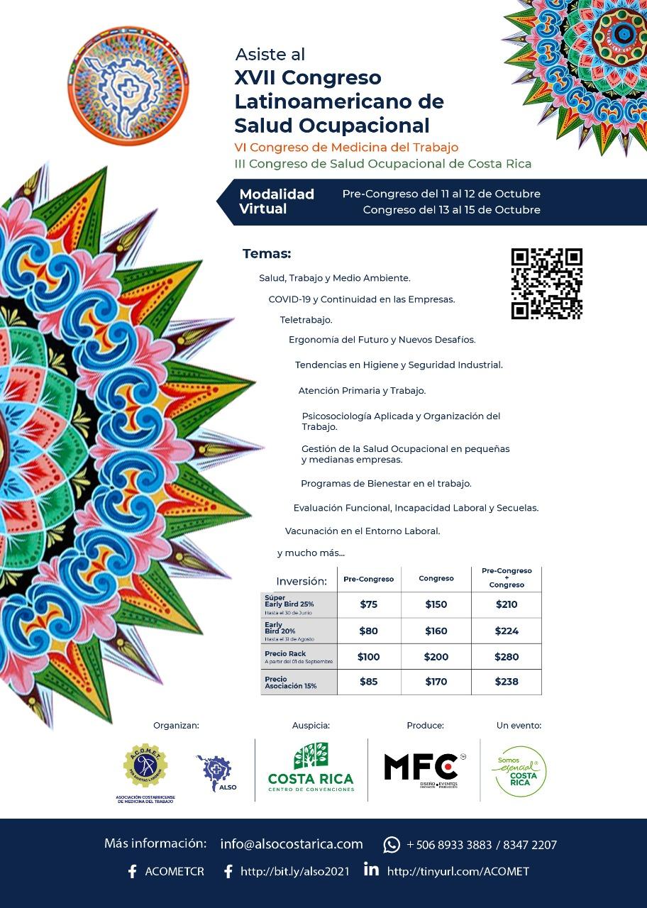 XVII Congreso Latinoamericano de Salud Ocupacional.