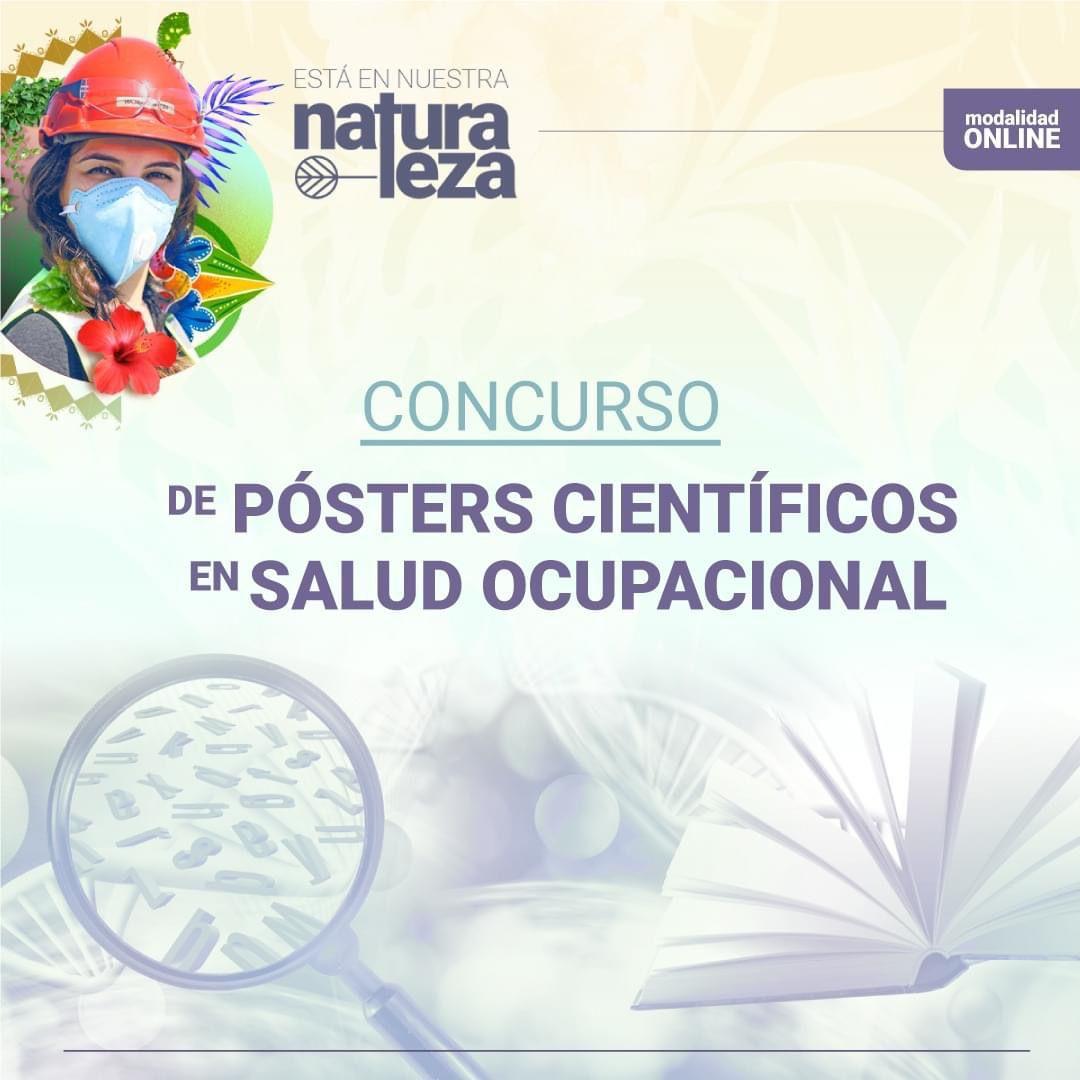 CONCURSO DE PÓSTERS CIENTÍFICOS EN SALUD OCUPACIONAL.