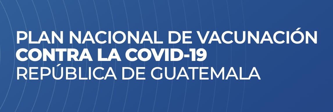 Plan Nacional de Vacunación COVID-19